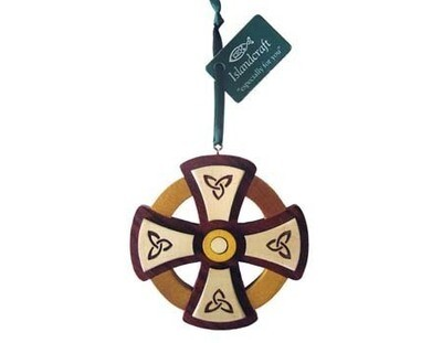 Round Celtic Cross Ornament