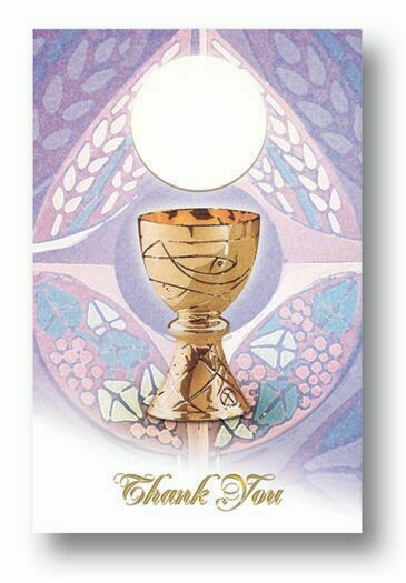 First Communion Thank you Cards