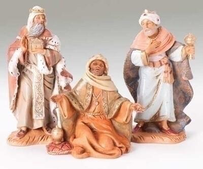 "5"" Fontanini Three Kings 3-Piece Set"