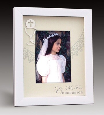 First Holy Communion Shadown Box Picture Frame