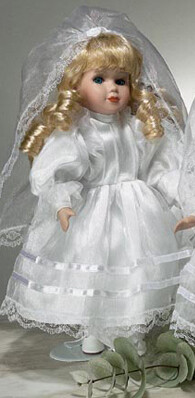 First Communion Doll- Blonde