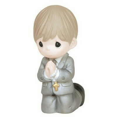 Remembrance Of My First Holy Communion, Boy Figurine