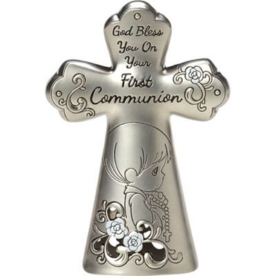 God Bless You On Your First Communion, Boy Cross