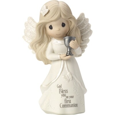 God Bless You On Your First Communion Figurine