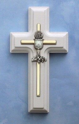 First Holy Communion White Cross- Chalice
