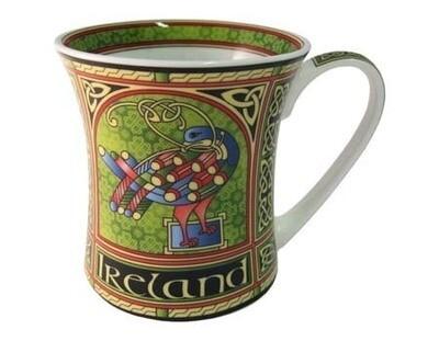 Celtic Peacock Mug