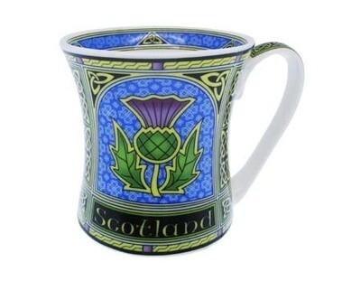 Scotland Mug- Celtic Window