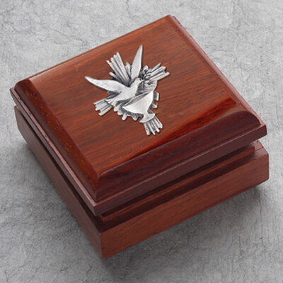 Confirmation Rosewood Box