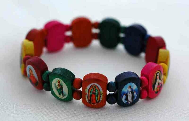 Brazilian Wood Bracelet- for Children, Multi-Colors