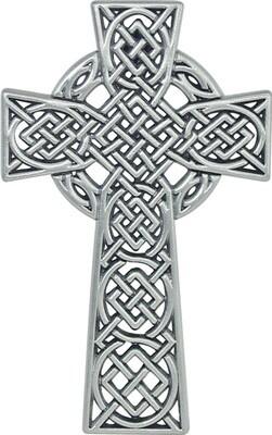 "4.5"" Celtic Knot Irish Wall Cross"