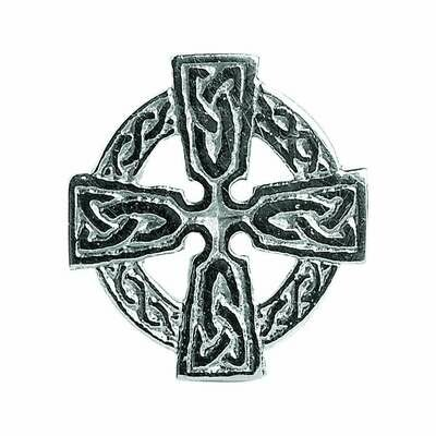 Sterling Silver Celtic Cross Tie Tac