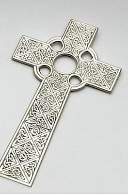 Mullingar Pewter Celtic Cross