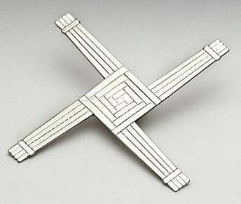 Mullingar Pewter St. Bridgets Cross