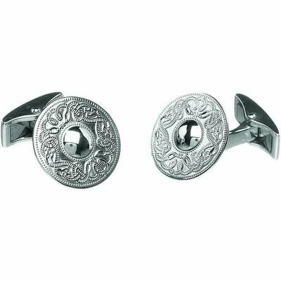 Sterling Silver Original Celtic Warrior® Cufflinks- Small