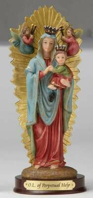 "8"" Our Lady of Perpetual Help Statue"