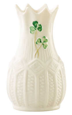 "Belleek Cashel 4"" Mini Vase"