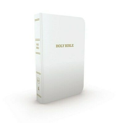 White Gift & Award Bible- KJV