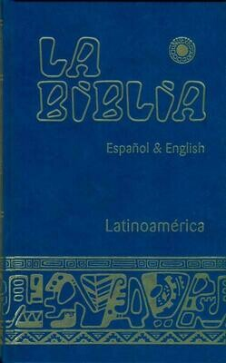 Biblila Latinoamerica, Bi-lingue, Azul