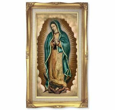 """Our Lady of Guadalupe 11 1/4"""" x 18 1/2"""""""