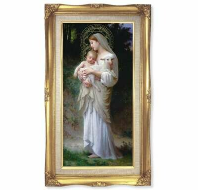 "Bouguereau: Divine Innocence 11 1/4"" x 18 1/2"""