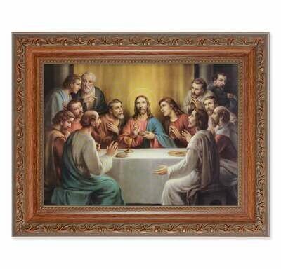 """Bonella: Last Supper 8 1/4"""" x 10 1/4"""""""