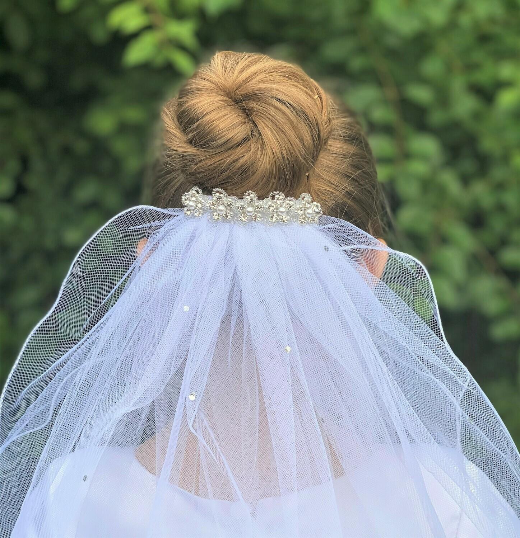 Communion Veil Headpiece 360782