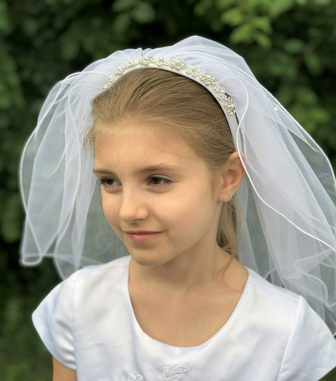 Communion Veil Headpiece 352852