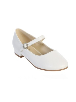 Girl White Shoes