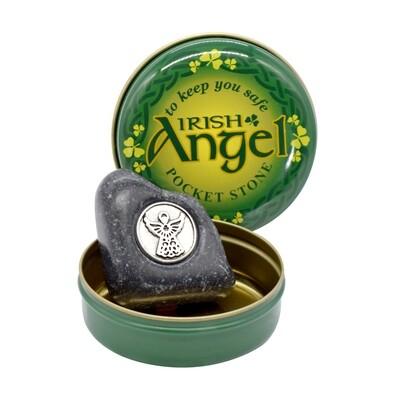 Pocket Angel Stone- Connemara Marble
