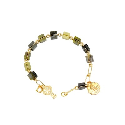 Commemara Marble Rosary Bracelet