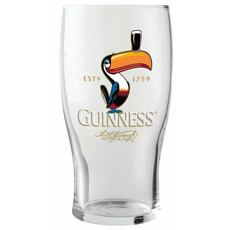 Guinness® Toucan 20oz Pint Glass