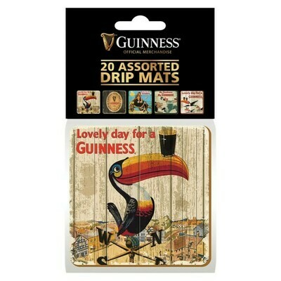 Guinness® Heritage Coasters- Set of 20