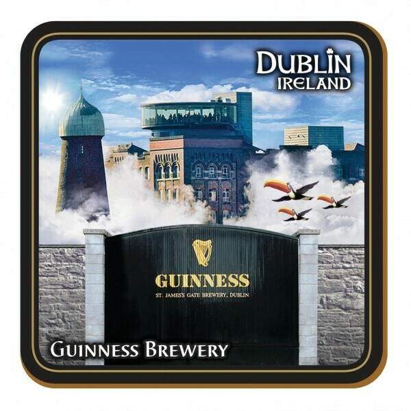 Guinness® Coaster- Montage