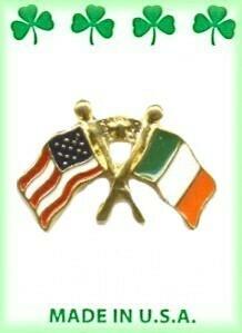 USA-Ireland Friendship Lapel Pin
