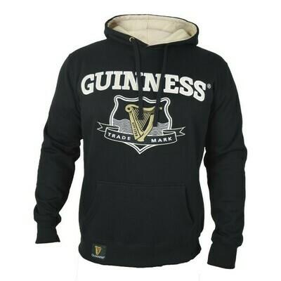 Guinness® Signature Black Hooded Sweatshirt