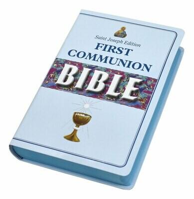 First Communion Bible (St. Joseph NCB Edition)- Boy