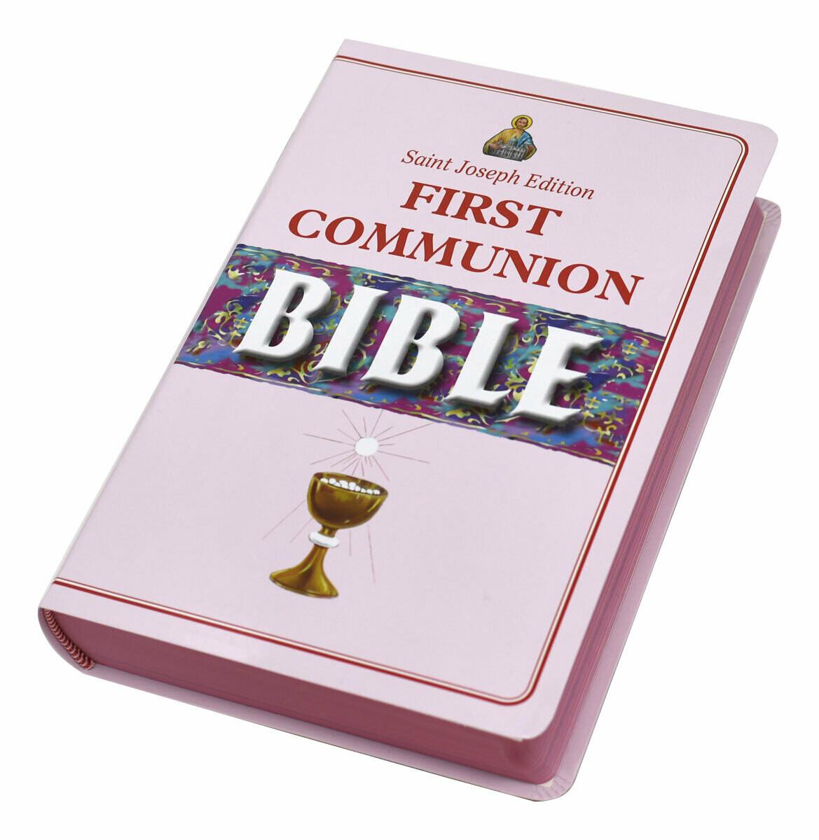 First Communion Bible (St. Joseph NCB Edition)- Girl