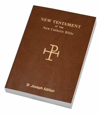 St. Joseph NCB New Testament (Vest Pocket Edition)- Brown Flexible Cover