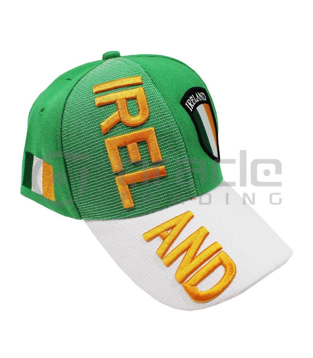 Ireland 3D Embroidered Hat