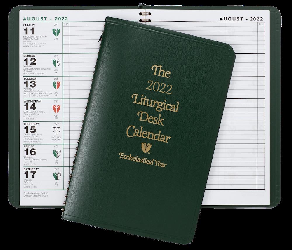 2022 Liturgical Desk Calendar