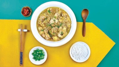 Steamed Chicken with Bentong Ginger
