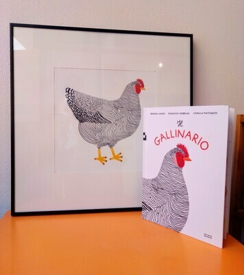 Pacchetto Gallinario + stampa gallina