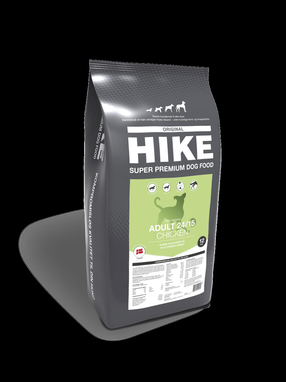 HIKE ORIGINAL Adult CHICKEN 24/15 hundemad 12 kg