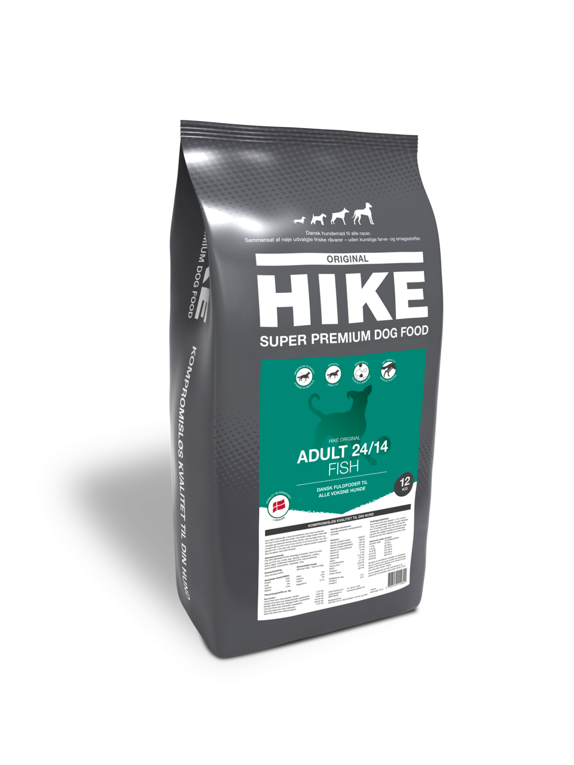 HIKE ORIGINAL Adult FISH 24/14 hundemad 12 kg