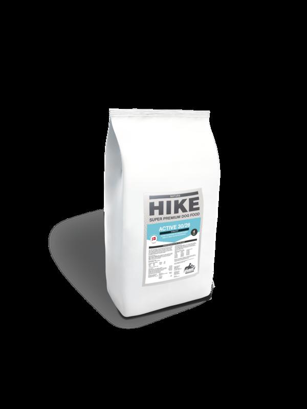 HIKE NATURE Active 30/26 kornfri hundemad 4 kg