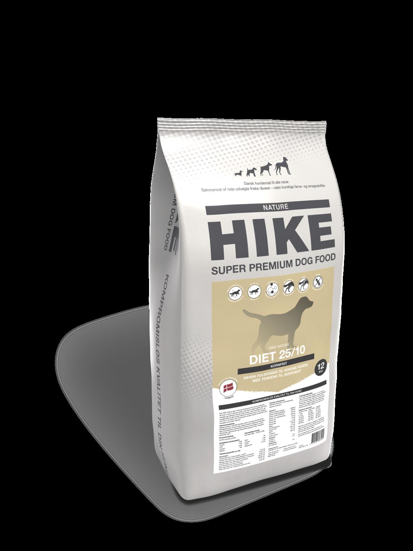 HIKE NATURE Diet 25/10 kornfri hundemad 12 kg