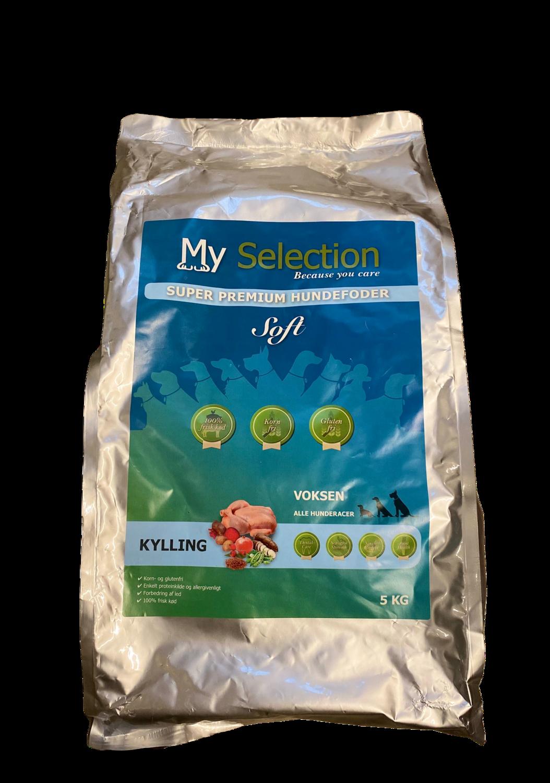 My selection KYLLING – super premium hundefoder 5 kg.