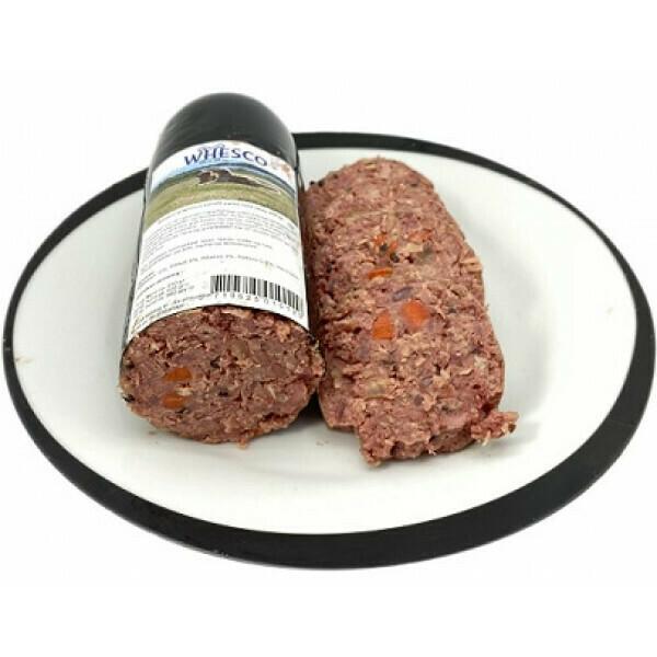 Whesco Super premium kornfri pølse med okse & kylling 900 gr.