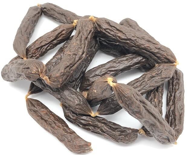 Tørret pølser m okse - 10 stk