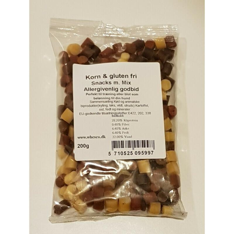 Korn & gluten fri godbidder mix - 200g